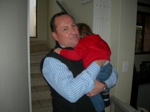 Bonding with Milan my grandson