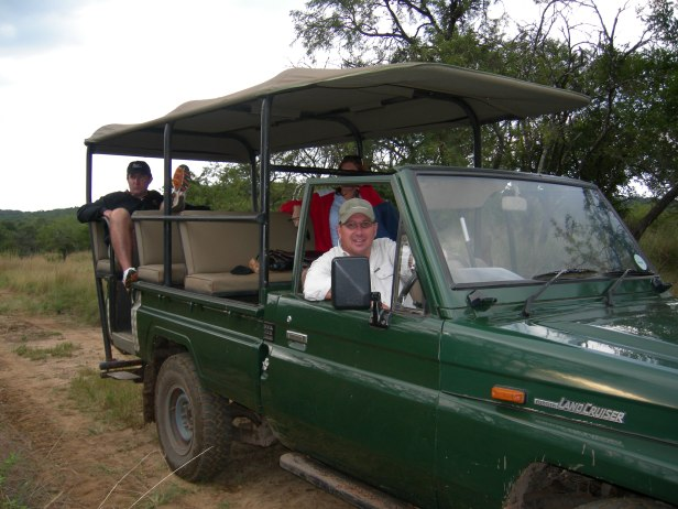 Cotswold game drive with Dean and Rachell