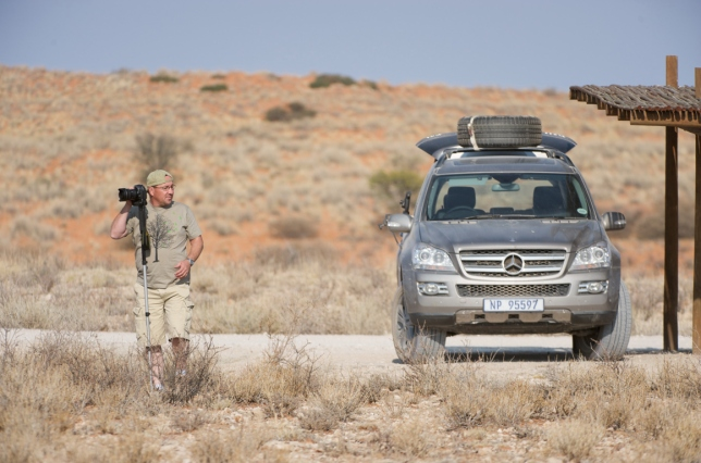Capturing Lanscapes in the Kgalagadi