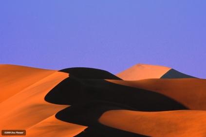 Dunes at Sossuvlei Namibia
