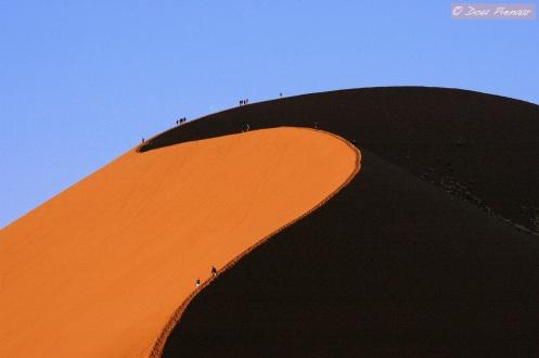 Sossusvlei dune scale