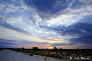 Kalahari Sunrise Road